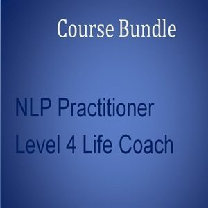 distance learning Home Study Course Bundle 8: Level 3 NLP Practitioner with Level 4 Life Coach